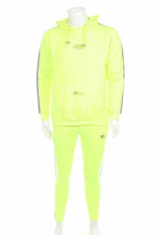 Pánský sportovní komplet  Boohoo, Rozměr S, Barva Zelená, Polyester, Cena  647,00Kč