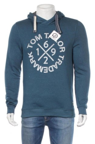 Pánská mikina  Tom Tailor, Rozměr M, Barva Modrá, 80% bavlna, 20% polyester, Cena  616,00Kč