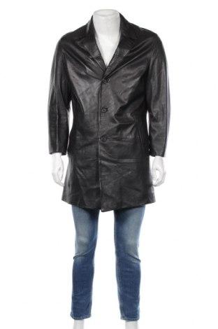 Pánská kožená bunda  Hugo Boss, Rozměr L, Barva Černá, Pravá kůže, Cena  2687,00Kč