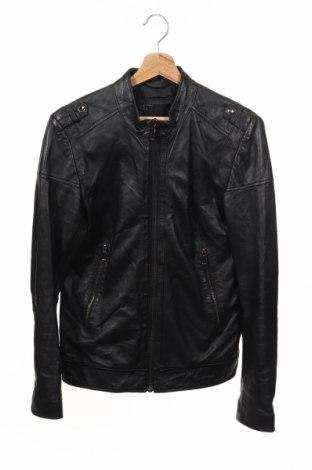 Pánská kožená bunda  Zara Man, Rozměr S, Barva Černá, Pravá kůže, Cena  1218,00Kč