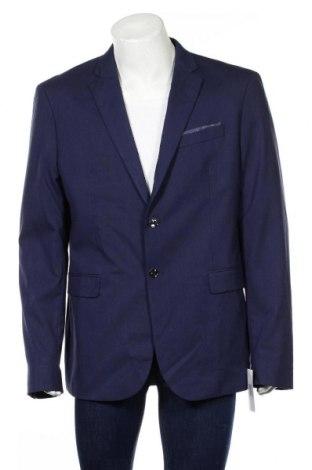 Pánské sako  Mango, Rozměr XL, Barva Modrá, 69% polyester, 29% viskóza, 2% elastan, Cena  1074,00Kč