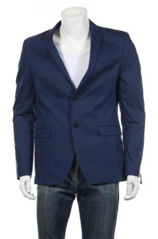 Pánské sako  S.Oliver, Rozměr L, Barva Modrá, 64% bavlna, 32% polyester, 4% elastan, Cena  1143,00Kč