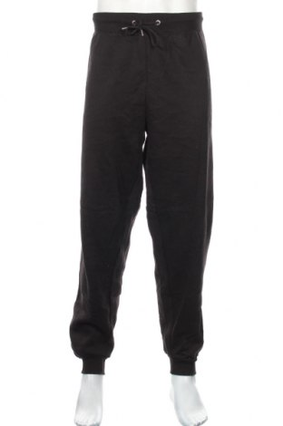 Мъжко спортно долнище Boohoo, Размер 3XL, Цвят Черен, 50% памук, 50% полиестер, Цена 25,92лв.