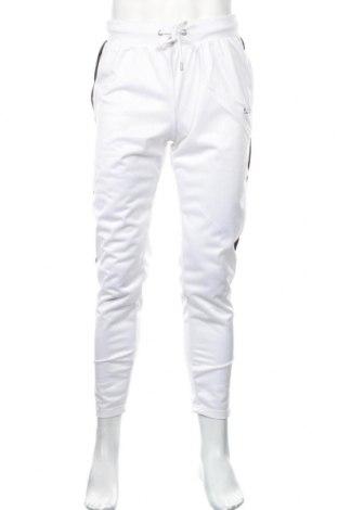 Мъжко спортно долнище Boohoo, Размер L, Цвят Бял, 52% памук, 48% полиестер, Цена 18,72лв.