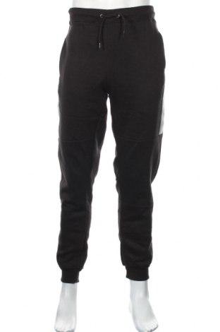 Мъжко спортно долнище Boohoo, Размер XL, Цвят Черен, 50% памук, 50% полиестер, Цена 25,92лв.