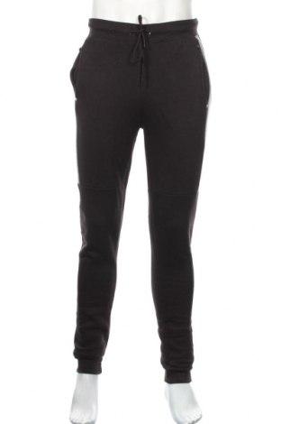 Мъжко спортно долнище Boohoo, Размер M, Цвят Черен, 50% памук, 50% полиестер, Цена 25,92лв.