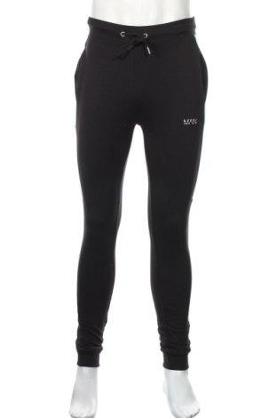 Мъжко спортно долнище Boohoo, Размер S, Цвят Черен, 96% памук, 4% еластан, Цена 25,92лв.