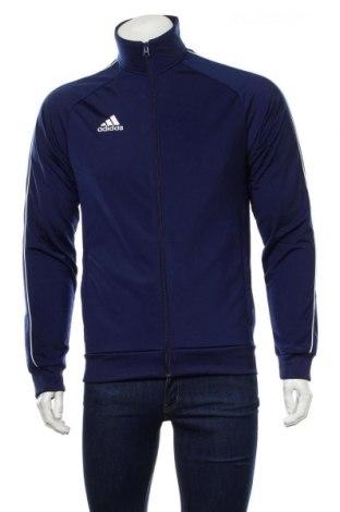 Ανδρική αθλητική ζακέτα Adidas, Μέγεθος S, Χρώμα Μπλέ, Πολυεστέρας, Τιμή 50,28€