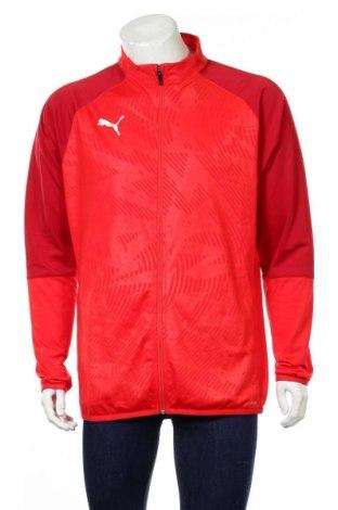 Ανδρική αθλητική ζακέτα PUMA, Μέγεθος L, Χρώμα Κόκκινο, Πολυεστέρας, Τιμή 43,91€