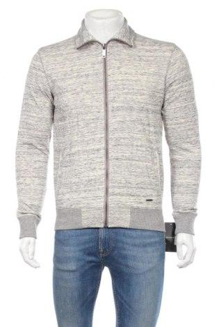 Bluză trening de bărbați Reserved, Mărime S, Culoare Gri, 80% bumbac, 20% poliester, Preț 110,53 Lei