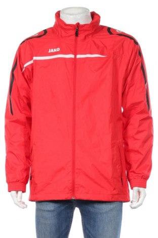 Мъжко спортно яке Jako, Размер L, Цвят Червен, 100% полиестер, Цена 36,02лв.