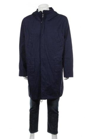 Мъжко яке Reserved, Размер XL, Цвят Син, Памук, Цена 33,60лв.