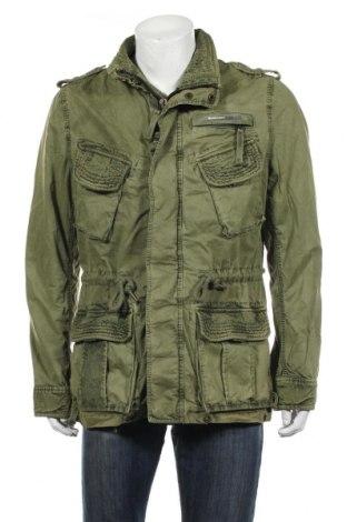 Pánská bunda  Superdry, Rozměr XL, Barva Zelená, Bavlna, Cena  765,00Kč