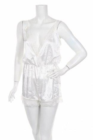 Πιτζάμες Boohoo, Μέγεθος XS, Χρώμα Λευκό, Πολυεστέρας, Τιμή 10,39€