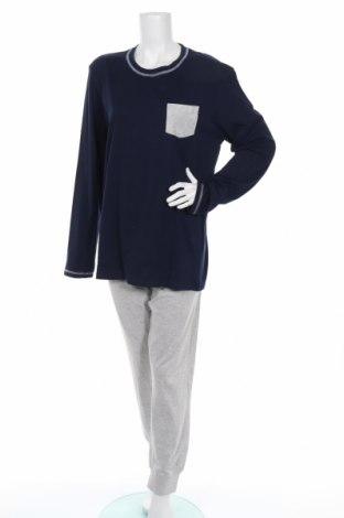 Πιτζάμες Yamamay, Μέγεθος L, Χρώμα Μπλέ, 95% βαμβάκι, 5% βισκόζη, Τιμή 20,04€