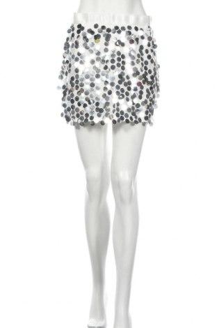 Φούστα Boohoo, Μέγεθος M, Χρώμα Λευκό, Πολυεστέρας, Τιμή 11,87€