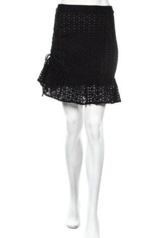 Φούστα Boohoo, Μέγεθος S, Χρώμα Μαύρο, Βαμβάκι, Τιμή 13,36€