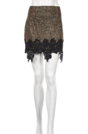 Φούστα Boohoo, Μέγεθος L, Χρώμα Μαύρο, Πολυεστέρας, Τιμή 11,87€