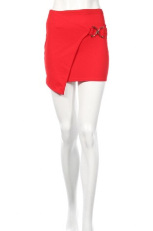 Φούστα Boohoo, Μέγεθος XXS, Χρώμα Κόκκινο, 95% πολυεστέρας, 5% ελαστάνη, Τιμή 12,62€