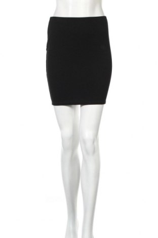 Φούστα Boohoo, Μέγεθος XS, Χρώμα Μαύρο, 95% πολυεστέρας, 5% ελαστάνη, Τιμή 13,36€