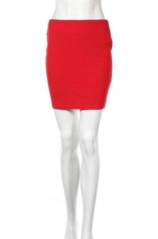 Φούστα Boohoo, Μέγεθος S, Χρώμα Κόκκινο, 95% πολυεστέρας, 5% ελαστάνη, Τιμή 13,36€