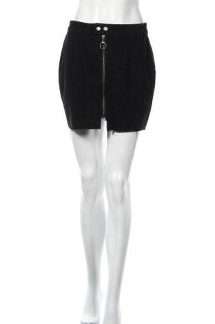 Φούστα Boohoo, Μέγεθος M, Χρώμα Μαύρο, 100% βαμβάκι, Τιμή 13,36€