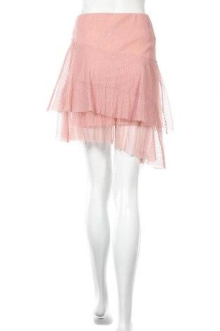 Пола Cropp, Размер XS, Цвят Розов, Полиестер, Цена 7,56лв.