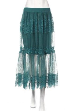 Sukňa Reserved, Veľkosť L, Farba Zelená, 100% polyester, Cena  23,71€