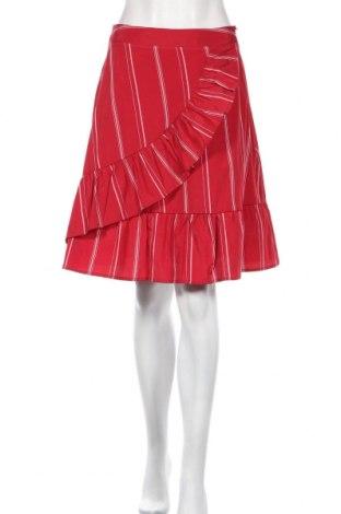 Φούστα Yfl Reserved, Μέγεθος L, Χρώμα Κόκκινο, 90% πολυεστέρας, 10% βαμβάκι, Τιμή 4,76€