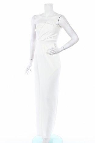 Рокля Boohoo, Размер XS, Цвят Бял, 95% полиестер, 5% еластан, Цена 23,60лв.