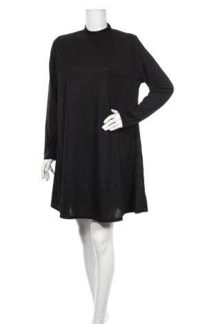 Šaty  Boohoo, Veľkosť XXL, Farba Čierna, 95% polyester, 5% elastan, Cena  22,68€