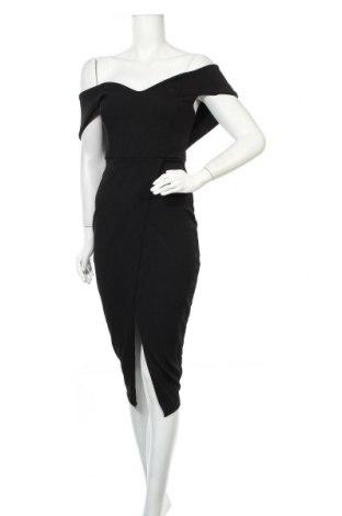 Φόρεμα Boohoo, Μέγεθος M, Χρώμα Μαύρο, 95% πολυεστέρας, 5% ελαστάνη, Τιμή 18,56€