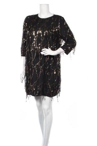 Šaty  Boohoo, Veľkosť XL, Farba Čierna, Polyester, Cena  24,74€