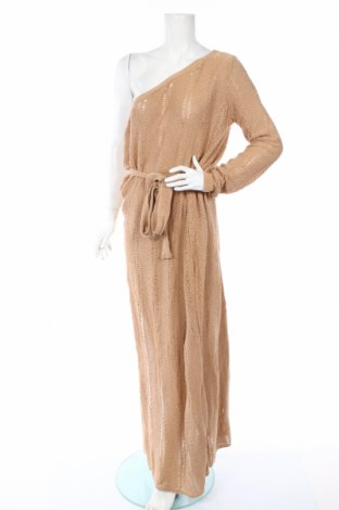 Šaty  Boohoo, Rozměr XL, Barva Hnědá, 50% bavlna, 50%acryl, Cena  564,00Kč