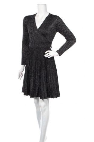 Šaty  Derhy, Veľkosť S, Farba Čierna, 45% viskóza, 45% polyamide, 10% vlákna , Cena  60,98€