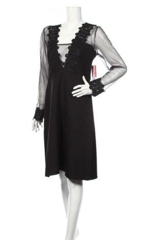 Šaty  Elise Ryan, Veľkosť L, Farba Čierna, 92% polyester, 8% elastan, Cena  30,54€