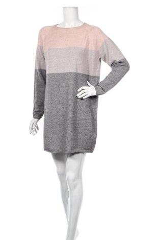 Šaty  Only, Veľkosť L, Farba Sivá, 50% viskóza, 27% polyamide, 23% polyester, Cena  22,43€