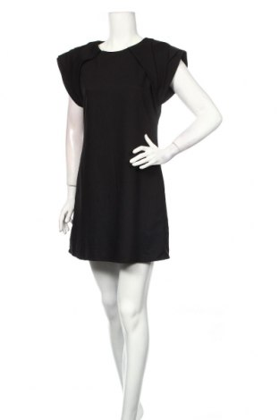 Рокля Wardrobe, Размер M, Цвят Черен, 60% полиестер, 36% вискоза, 4% еластан, Цена 25,94лв.