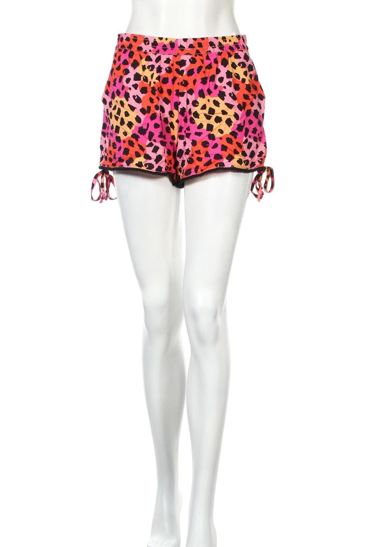 Γυναικείο κοντό παντελόνι Yfl Reserved, Μέγεθος S, Χρώμα Πολύχρωμο, Βισκόζη, Τιμή 3,90€