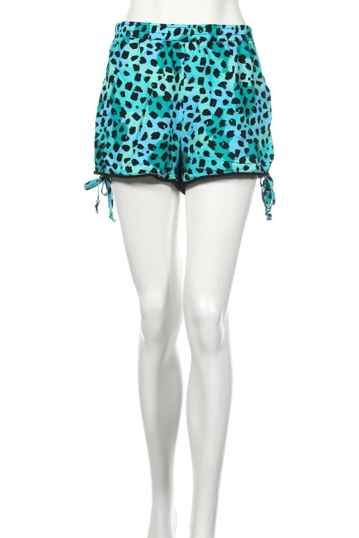 Γυναικείο κοντό παντελόνι Yfl Reserved, Μέγεθος XS, Χρώμα Πολύχρωμο, Βισκόζη, Τιμή 3,25€