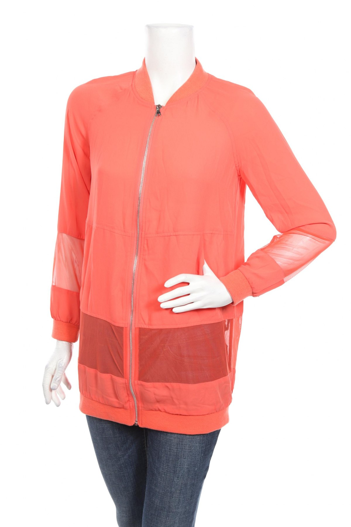 Дамско яке Reserved, Размер XS, Цвят Оранжев, Полиестер, Цена 23,60лв.