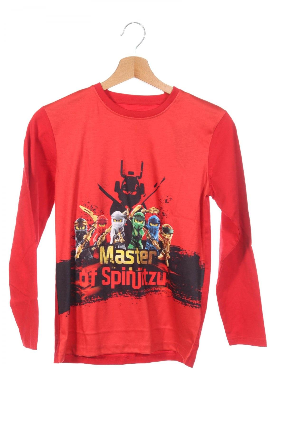 Детска блуза Lego, Размер 10-11y/ 146-152 см, Цвят Червен, 100% полиестер, Цена 17,00лв.