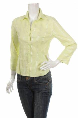 Γυναικείο πουκάμισο H&M, Μέγεθος M, Χρώμα Κίτρινο, 46% βαμβάκι, 33% πολυαμίδη, 14% πολυεστέρας, 7% ελαστάνη, Τιμή 12,99€