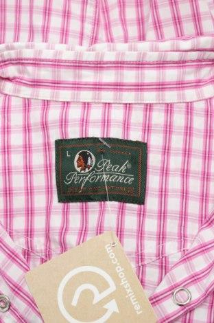Γυναικείο πουκάμισο Peak Performance, Μέγεθος L, Χρώμα Ρόζ , Βαμβάκι, Τιμή 17,01€