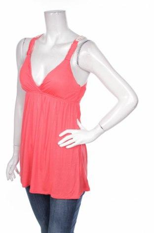 Γυναικείο αμάνικο μπλουζάκι Pink Republic, Μέγεθος S, Χρώμα Πορτοκαλί, Βισκόζη, Τιμή 2,97€