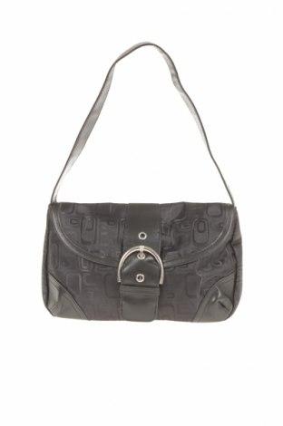 Γυναικεία τσάντα, Χρώμα Μαύρο, Κλωστοϋφαντουργικά προϊόντα, δερματίνη, Τιμή 21,65€