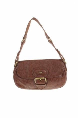 Γυναικεία τσάντα Mango, Χρώμα Καφέ, Δερματίνη, Τιμή 23,20€