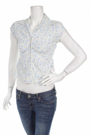 Дамска риза Clockhouse, Размер M, Цвят Многоцветен, 97% памук, 3% еластан, Цена 7,48лв.