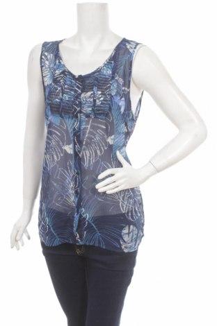Γυναικείο πουκάμισο Reitmans, Μέγεθος L, Χρώμα Μπλέ, 100% πολυεστέρας, Τιμή 3,06€