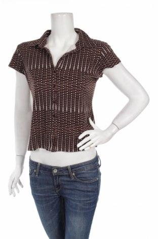 Дамска риза Street One, Размер L, Цвят Кафяв, Памук, Цена 5,42лв.